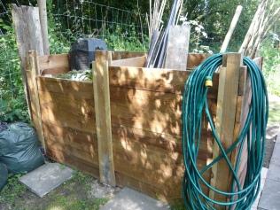 posh new compost heap